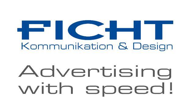 Ficht, Werbung & Grafik